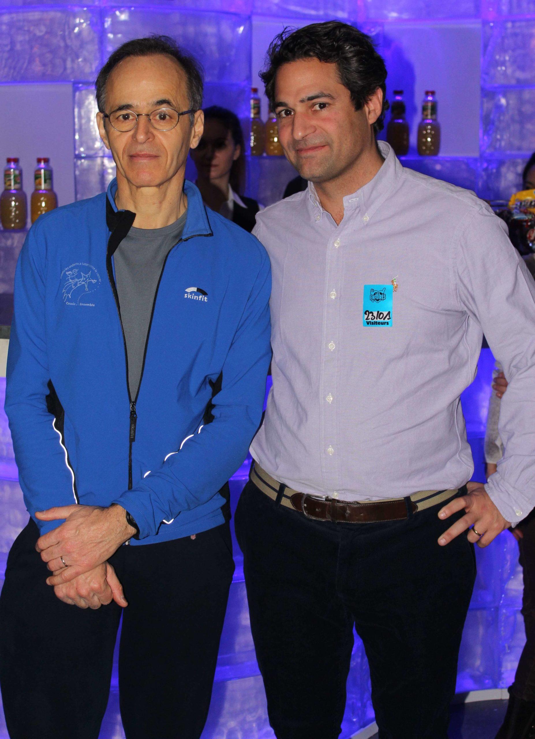 Marc Ansari et Jean-Jacques Goldman